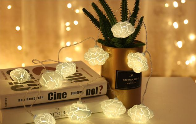 Crack Cloud Led string lights