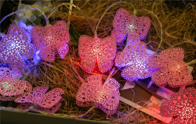 Iron Butterfly Led String lights
