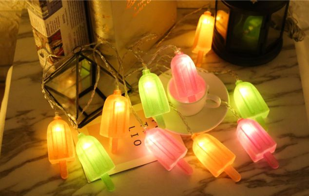 lolly solar led string light