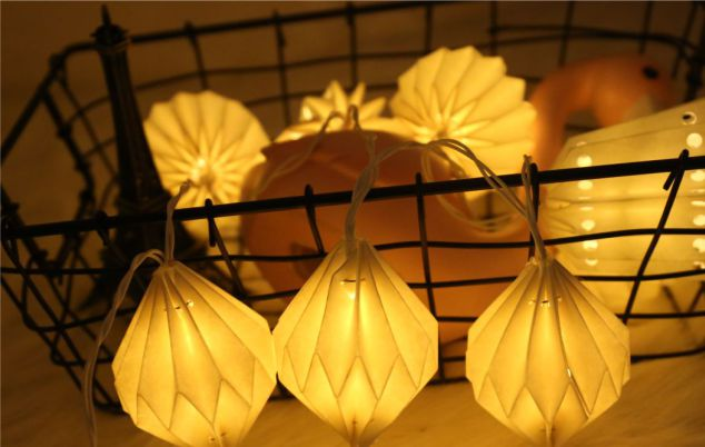 Paper Led String lights